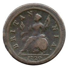 More details for km# 557 - halfpenny - george i - great britain 1720 (f)