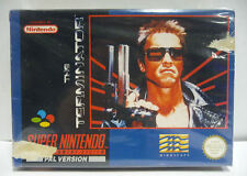 THE TERMINATOR  - SNES SUPER NINTENDO PAL BOXED