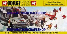 Corgi Citroën Vintage Manufacture Diecast Cars