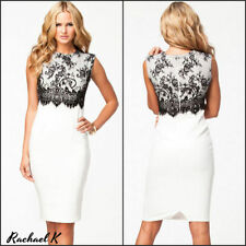 Knee-Length Lace Wiggle/Pencil Dresses for Women