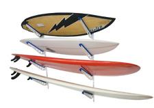 Adjustable Metal Surfboard Wall Rack | 4 Boards