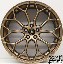 "4 rims Lamborghini Huracan 20 "" Original Narvi 4T0601017 Bronze"