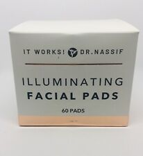 It works! Illuminating Facial Pads Dr. Nassif Mfg Date 11/19