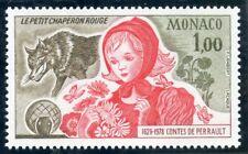 TIMBRE DE MONACO  N° 1156 ** CHARLES PERRAULT / LE PETIT CHAPERON ROUGE