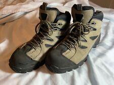 Wolverine 2193 Men's Leather Steel-Toe EH Mid Hudson Hiker Boots 11M Gray/Black.
