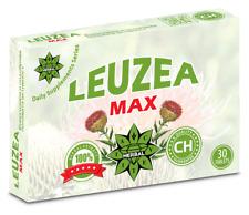 Leuzea Max - 30 Tablets Muscle Fuel Improves Mood, Natural Antioxidant, Energy