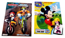 Mickey Mouse Clubhouse & Friend Coloring Book Disney JR Activity Books Set of 2