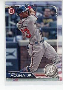 Ronald Acuna Jr 2019 Bowman Base #78 Atlanta Braves