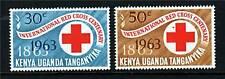 K.U.T. 1963 Red Cross SG 205/6 MNH