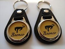 FORD BRONCO KEYCHAIN 2 PACK TRUCK FOB LOGO