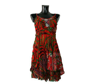 SENSATIONS N2 Made in France  Damen Sommerkleid Minikleid Trägerkleid Gr. 34-40