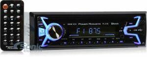 Power Acoustik PL-51B Single-DIN Mechless Bluetooth Digital Media Car Receiver
