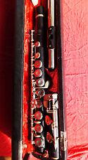 WUNDERLICH R. -E- Holz Querflöte flute flauta flauto