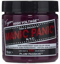Manic Panic Semi-Permament Haircolor, Plum Passion 4 oz