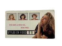 Vintage VHS - Styles On Video : I Dare to Dream - VHS Rare Retro Beauty Tape VTG