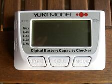 Digital Battery Capacity Checker • NiMH • LiFe • LiPo • Servotester • Balancer