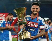 Foto Autografo Calcio Lorenzo Insigne Asta di Beneficenza Sport Coa SSC Napoli