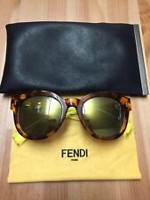 0c249041450 Fendi Green Round Sunglasses for Women for sale