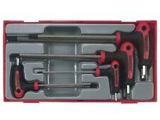 Teng TTHEX7 7 Piece Metric Hex Hexagon Allen T Handle Drivers Set 2.5mm 8mm