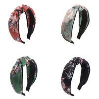 Ladies Twist Knot Hairband Head Wrap Headband Tie Hair Band Hoop Accessories