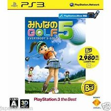 Used PS3 Minna no Golf 5 SONY PLAYSTATION 3 JAPAN JAPANESE IMPORT