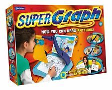 Nuevo SUPERGRAPH-Super Gráfico Grafix Dibujo Art Studio visor óptico John Adams