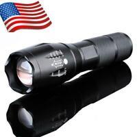 Hot 10000LM LED 18650 Flashlight Focus Torch Zoom Lamp Light Bright US