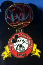 Classic Mickey Mouse DLR Pin Trading Night disney Pin 2012 LE 500 OC Hinged