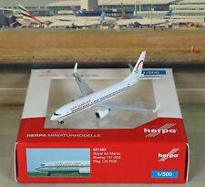 Herpa Wings Royal Air Maroc B737-800W (NG) 1/500