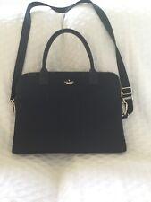 Kate Spade Briefcase Computer Bag Black Nylon Excellent Condition