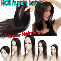 DELIVERY NEEDLE NEW ARRIVALS clip in virgin human hair Topper Toupee for Women B