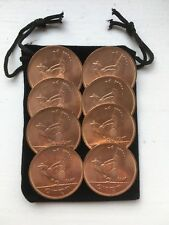 Bag Of 8 Irish Pennies 1D 1968 Uncirculated Condition from Ireland 50 years old