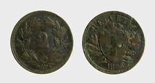 s528_36) Svizzera  Switzerland  Helvetia - SUISSE -  2 Rappen 1898 B