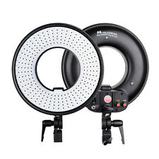 DVR-300DVC LED Ring AC/DC Light Video Studio On Camera Light 3000K-7000K AU