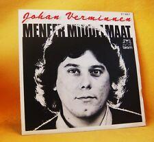"""7"""" Single Vinyl 45 Johan Verminnen Meneer Middelmaat 2TR 1983 (MINT) MEGA RARE !"""