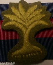 Welsh Guards Other Ranks Coth Cap Badge & Backing