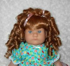 Monique CHARMAINE Doll Wig SZ 12/13 ~Light Ginger~Full Cap Modacrylic~SALE PRICE