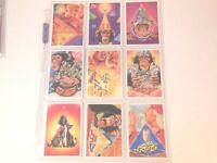 1996 Brooke Bond Tea PYRAMID POWER Trading card set RED BACK VARIATION 50 cards