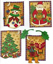 Batch of Christmas Patches-  Iron On Fabric Appliques