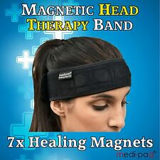 MEDIPAQ™ Magnetic Headband Migraine Headache Relief Treatment Neck Pain Tension