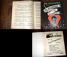 30 minutes avec Joe Belligham and his orchestra partition piano album 7 titres