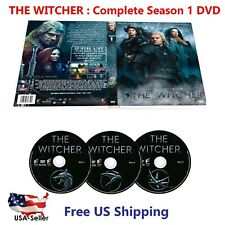 THE WITCHER : Complete Season 1 (3 DVD Set) Brand New US Seller