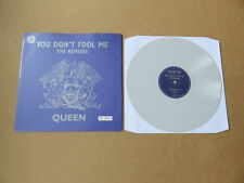 "QUEEN You Don't Fool Me RARE 12"" GREY VINYL LOW NUMBERED #107 PRESSING 12QUEEN25"
