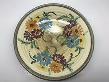 Glyn Colledge Design Denby Pottery Footed Dish, Hand-Painted 1950's