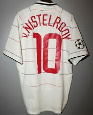 MANCHESTER UNITED 2003/2004/ THIRD FOOTBALL SHIRT NIKE v. NISTELROOY #10 BOYS XL