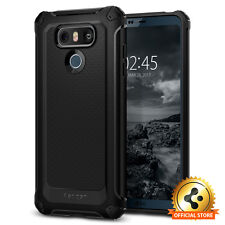 Spigen® For LG G6 [Rugged Armor Extra] Slim Shockproof Protective TPU Case Cover