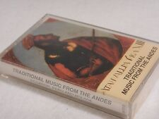 Cassette Tape Album : Traditional Music from the Andes - Equador, Peru & Bolivia