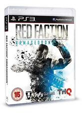 Red Faction Armageddon PS3 VERY GOOD CONDITION ORIGINAL GAME CASE WITH MANUAL