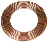 Reading  3/8 in. Dia. x 60 ft. L Type L  Copper Tubing