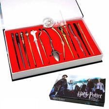13Pcs/Set Magic Key Chain Pendant Alloy Set For Harry Potter Kids Toys